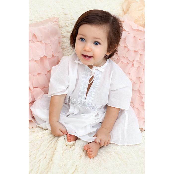 Крестильная одежда Makkaroni Kids Крестильный набор Классика для девочки 0-3 мес. комплект в колыбель симплисити makkaroni kids тедди 3 пр