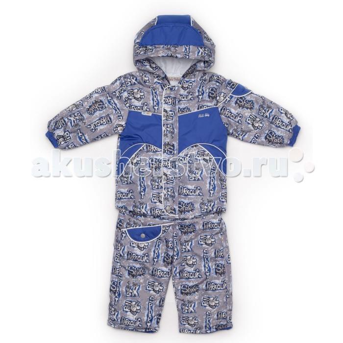 Malek Baby Куртка-полукомбинезон 418пКуртка-полукомбинезон 418пMalek Baby Куртка-полукомбинезон 418п  Комплект: куртка + полукомбинезон. Куртка на застежке молния и планкой с пуговицами. Полукомбинезон с фиксаторами затягивания для регулировки длины.  У данной модели подкладку можно отстегнуть!    Состав: верх - 100% ПЭ, утеплитель - синтепон (100 гр), подкладка - ворсовая ткань Velboa.<br>