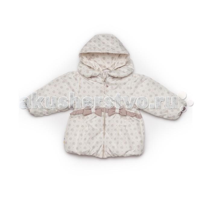 Malek Baby Пальто Цветы 710П