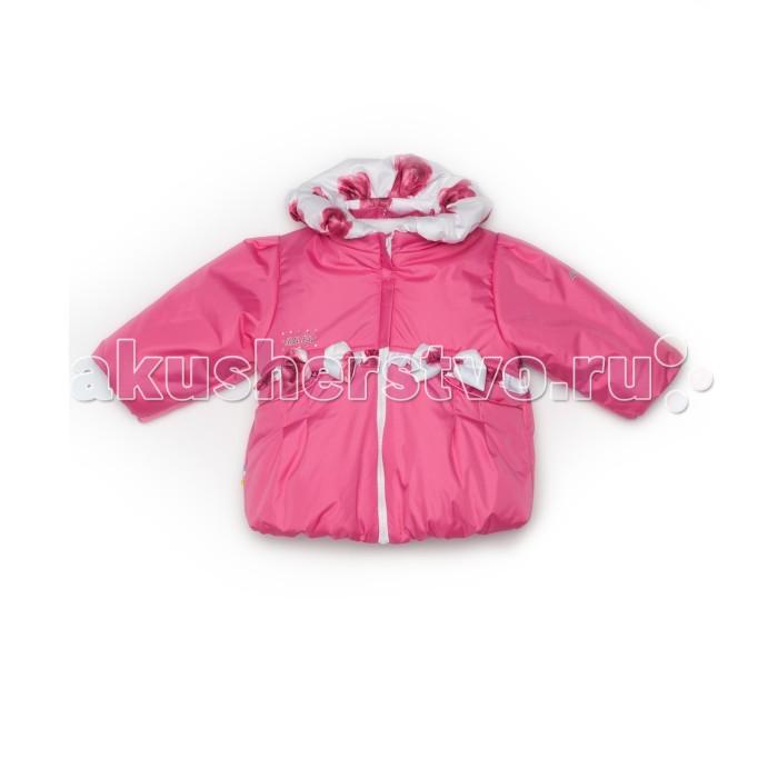 Malek Baby Пальто Розы 710тПальто Розы 710тMalek Baby Пальто 710т  Пальто для девочки на сезоны весна-осень.  Одна застежка-молния, планка на кнопках. Два кармана. Капюшон съемный.  Состав: верх - 100% ПЭ, наполнитель - Холофайбер (100 гр).<br>