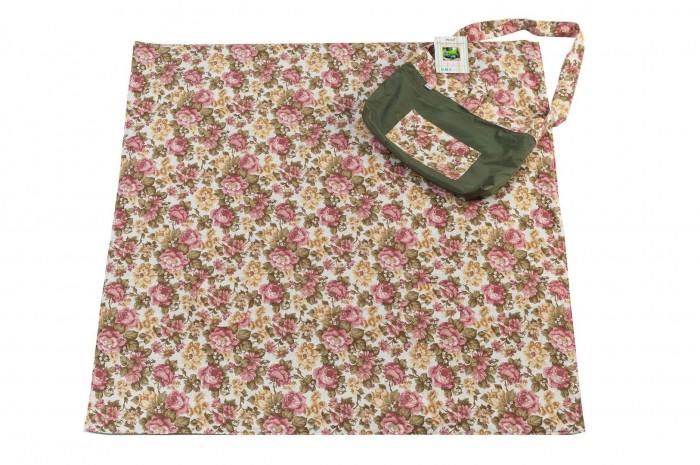 Одеяло Mammie термо для пикника с сумкой для мамы