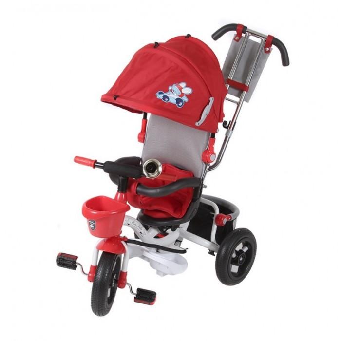 Велосипед трехколесный Mars 960960Велосипед трехколесный Mars Mini Trike 960 (надувные колеса) предназначен для детей от 1 до 5-ти лет.  Особенности: съемная широкая подставка для ног, передняя пластиковая корзина, сиденье с высокой воздухопроницаемой спинкой и мягким тканевым вкладышем, 2 уровня наклона сидения со спинкой, надувные колеса диаметром 12/10 (переднее и задние соответственно), ножной тормоз на задние колеса, регулируемый большой капор с фиксатором уровней открытости, разъемный бампер, смотровое окно в задней части капора, принт на капоре, удобный вместительный багажник, сумочка для мелочей на ручке управления, клаксон  Размер: 94х52х110 см<br>