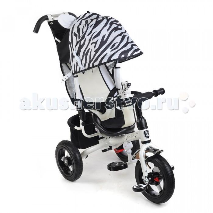 Велосипед трехколесный Mars Mini Trike 000777Mini Trike 000777Велосипед трехколесный Mars Mini Trike 000777 обеспечит комфорт и удовольствие для вашего малыша во время прогулки.  Такой универсальный детский транспорт позволяет ребенку как ездить самостоятельно, так и кататься под контролем взрослого. При самостоятельном передвижении ребенок будет приводить велосипед в движение при помощи педалей и управлять им рулем. Если же велосипед выполняет функцию прогулочной коляски, взрослый сможет толкать его перед собой при помощи специальной ручки, которая также служит и для управления.  Особенности: Стальная облегченная рама. Прочная съемная ручка управления велосипедом. Независимый от ручки управления &#8213; сложный регулируемый капюшон с фиксатором уровня открытости. Смотровое окошко на задней части капюшона. Сиденья с высокой воздухопроницаемой спинкой (3 положения)и мягким тканевым вкладышем. Разъемный бортик удобной конфигурации. Складная подножка. Рифленые педали. Бесшумные надувные колеса (переднее 12, заднее 10 дюймов). Переднее колесо с функцией свободного хода – фиксатор педалей. Задний стояночный тормоз. Вместительная корзина из ткани для вещей и игрушек. Сумочка для мелочей на родительской ручке. Клаксон-игрушка. Размеры: 83х49х100 см<br>