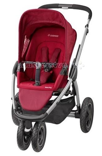 Прогулочная коляска Maxi-Cosi Mura Plus 3Mura Plus 3Прогулочная коляска Maxi-Cosi Mura Plus 3. Коляска предназначена для детей от 3 от 6 месяцев до 4-х лет, максимальная нагрузка 20 кг.  Качество коляски Maxi-Cosi Mura Plus 3 полностью соответствует Европейскому стандарту безопасности ECE R 44/04.  Прогулочный блок: Спинка регулируется в 3-х положениях Прогулочный блок можно использовать как лицом к маме, так и по ходу движения 5-ти точечные ремни безопасности оборудованы мягкими накладками Съемный большой всепогодный капюшон Съемные детали легко стираются светоотражающие рефлекторы на обивке, позволяют быть замеченным в темное время суток Большая корзина для покупок (5 кг) Адаптеры для установки люльки и автокресла 0+ Maxi-Cosi телескопическая и регулируемая по высоте ручка гипоаллергенное покрытие ручки.  Колеса: Все колеса съемные Передние колеса сдвоенные с фиксацией Задние колеса резиновые с вспенинным наполнением Тормоз барабанный с приводом на задние колеса.  Размеры и вес: В разложенном виде (Д х Ш x В) 100х66х87 см в сложенном виде (Д х Ш x В) 80х60х20 см Вес: 12 кг.<br>