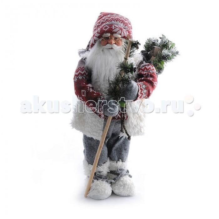Maxitoys Фигура Дед Мороз Большой 60 смФигура Дед Мороз Большой 60 смДед Мороз - большая рождественская фигурка, без которой практически невозможно представить себе ни один новогодний праздник.   Конечно же, в мешке этот вестник наступающего года несет подарки (правда декоративные), а в руке держит неизменный посох.  Выглядит очень естественно, со множеством мелких деталей. Отлично встанет под новогоднюю елку.   Высота Фигуры - 60 см<br>