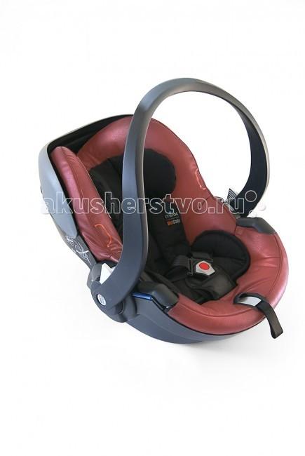 Автокресло Mima iZi Go Car SeatiZi Go Car SeatАвтокресло Mima iZi Go car seat, завоевало награду ведущего германского автомобильного журнала Auto, Motor und Sport как успешно прошедшее все краш-тесты. Автокресло iZi Go car seat — это сплав качества, дизайна, инновации и стиля. Защитите своего ребёнка продуктом, которому вы можете доверять.  Сидение: корпус кресла изготовлен из прочного пластика, который не ломается, а гнется, абсорбируя энергию. специальный наполнитель, деформируясь, так же абсорбирует энергии сидение широкое, удобное дополнительная мягкая подкладка для снижения нагрузки на чувствительную спину маленького ребёнка изготовлен из материала, имитирующего натуральную кожу  Ручка: удобная эргономичная ручка для переноски регулируемая  Крепление: возможность установки на заднем и переднем сидении автомобиля при отсутствии подушки безопасности монтируется при помощи штатных ремней безопасности автомобиля возможность установки на шасси коляски Mima Xari и Kobi.<br>