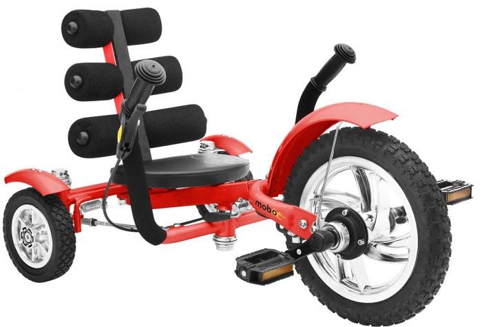 Велосипед трехколесный Mobo Круизер MiniКруизер MiniВелосипед трехколесный Mobo Круизер Mini - это инновационная система управления и эргономический дизайн  Данный круизер не только способен изменить уличный образ его владельца, но также поможет в развитии моторных навыков вашего малыша и зрительно-моторной координации. Круизер Mobo Mini будет расти вместе с вашим ребенком от 2х до 5 лет.  В Мини Mobo соединены великолепные особенности: крепкая рама, удобное сидение и свободное шасси - это только немногое из этого списка. Круизер позволяет развить у ребенка зрительно-моторную координацию и укрепить силу мышц.   Обычно ребенок перерастает свой первый велосипед в течение первого года, но с регулируемой рамой Мобо Мини ваш ребенок в течение длительного времени будет наслаждаться катанием на круизере. Безопасность, надежность и качество, которому вы можете доверять - особенность каждого круизера Mobo.  Особенности: эргономичный дизайн для малышей и дошкольников инновационная система управления нет цепи и нет спущенных колес удобное сиденье с высокой спинкой наклейки в комплекте позволят вашему малышу украсить круизер ручной тормоз безопасно низкая посадка  надежная прочная рама, которая растет вместе с вашим ребенком до роста 107 см  флажок безопасности для лучшей видимости развивает зрительно-моторную координацию и укрепляет силу рук и ног безопасный и долговечный  способен сделать каждую поездку непринужденной и увлекательной.  Размер круизера: 76.2-86.3х50.8х45.7 см<br>