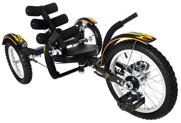 Велосипед трехколесный Mobo Круизер Mobito TritonКруизер Mobito TritonВелосипед трехколесный Mobo Круизер Mobito Triton - уникальный круизер в линейке круизеров для детей: безупречная подвижность, плавность хода, безопасность, максимальный комфорт, инновационный дизайн - всему этому вы можете доверять.   Вам  понравится удобное кресло и регулируемая рама, которая  позволит подогнать круизер под рост вашего ребенка. Благодаря системе аварийного тормоза и устойчивости круизера Ребенок может совершать безопасно крутые повороты, что будет придавать больше увлекательности при поездках на круизере и в путешествиях.    MOBO Mobito - отличное средство для новых открытий и приключений.  Особенности: эргономичный дизайн для малышей и дошкольников инновационная система управления удобное сиденье регулируемая в 6-ти положениях спинка ручной тормоз нет цепи безопасно низкая посадка  надежная прочная рама, которая растет вместе с вашим ребенком  флажок безопасности для лучшей видимости развивает зрительно-моторную координацию и балансирование укрепляет силу рук и ног безопасный и долговечный  стильный дизайн и модная графика. Для детей от 4 до 10 лет.   Размер круизера:  104-119.3х63.5х53.3 см<br>