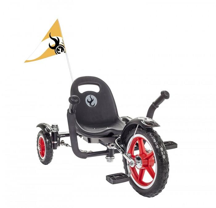 Велосипед трехколесный Mobo Круизер RockabillyКруизер RockabillyВелосипед трехколесный Mobo Круизер Rockabilly позволит почувствовать ощущения раннего рок-н-ролла. Благодаря новому инновационному механизму поворота задних колес вместе с универсальной рамой Рокабили Mobo позволяет малышу гордо путешествовать, как настоящая рок-звезда, в течение нескольких лет.   Данный круизер не только способен изменить уличный образ его владельца, но также поможет в развитии моторных навыков вашего малыша и зрительно-моторной координации.   Низкая посадка и крепкая рама обеспечивают безопасность и устойчивость круизера.   Особенности: эргономичный дизайн для малышей и дошкольников нет необходимости в балансировании  безопасно низкая посадка  надежная прочная рама, которая растет вместе с вашим ребенком до роста 107 см  флажок безопасности для лучшей видимости развивает зрительно-моторную координацию и укрепляет силу рук и ног для мобильности возможность установки ручки за спинкой сиденья  безопасный и долговечный  способен сделать каждую поездку непринужденной и увлекательной.  Размер круизера: 51-83.8х36х37 см<br>