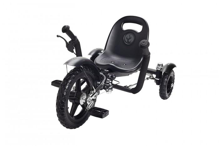 Велосипед трехколесный Mobo Круизер TotКруизер TotВелосипед трехколесный Mobo Круизер Tot позволит почувствовать ощущения раннего рок-н-ролла. Благодаря новому инновационному механизму поворота задних колес вместе с универсальной рамой Mobo Tot позволяет малышу гордо путешествовать, как настоящая рок-звезда, в течение нескольких лет.   Данный круизер не только способен изменить уличный образ его владельца, но также поможет в развитии моторных навыков вашего малыша и зрительно-моторной координации.   Низкая посадка и крепкая рама обеспечивают безопасность и устойчивость круизера.   Особенности: эргономичный дизайн для малышей и дошкольников нет необходимости в балансировании  безопасно низкая посадка  надежная прочная рама, которая растет вместе с вашим ребенком до роста 107 см  флажок безопасности для лучшей видимости развивает зрительно-моторную координацию и укрепляет силу рук и ног для мобильности возможность установки ручки за спинкой сиденья  безопасный и долговечный  способен сделать каждую поездку непринужденной и увлекательной. Размеры круизера: 73.7-83.8х52х42 см<br>