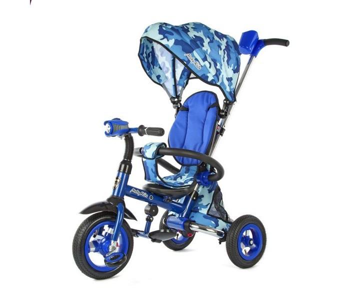 Велосипед трехколесный Moby Kids Junior-2Junior-2Велосипед Moby Kids Junior-2 трехколесный выполнен из прочного пластика и металла с родительской ручкой.   Описание: модель с функцией складывания рамы складывание происходит в считанные секунды при помощи кнопки светомузыкальная панель металлическая рама металлическая тяга внутри рамы колеса - надувная шина телескопическая ручка толкатель подставка для детской бутылочки или стаканчика фактурный рисунок на педалях складные подставки для ног с фактурным рисунком звонок на руле складной съемный тент колясочного типа с фиксаторами положения эргономичное сиденье с высокой спинкой и ремнями безопасности  спинка имеет 2 положения мягкий вкладыш-кенгуру на сидении раздвижная дуга безопасности с мягкими подлокотниками большая багажная корзина диаметр переднего колеса - 25 см (10) диаметр задних колес - 20 см (8)<br>