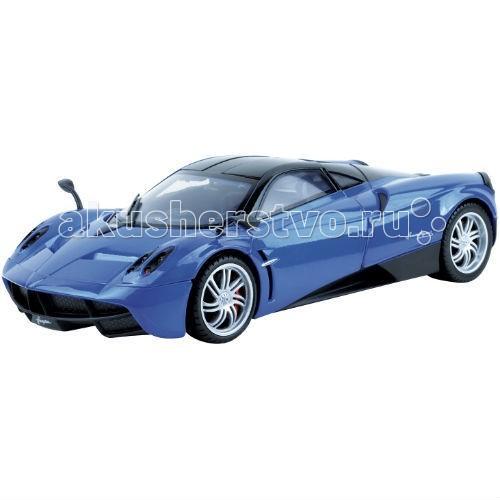 MotorMax 1:18 Pagani Huayra1:18 Pagani HuayraMotorMax Автомобиль 1:18 Pagani Huayra - великолепно детализированная, и готова стать венцом вашей личной коллекции моделей игрушечных автомобилей.   Разгоняющаяся до 110 км за 3 секунды, эта машина способна покорить ветер, разве вы не желали бы иметь ее в личном пользовании? Сделанная из литого металла, машина абсолютно безопасна для юных водителей, имеет приятную тяжесть, плавно и аккуратно движется по ровной поверхности. Прорезиненные шины и особенное внимание к деталям делают игрушку максимально похожей на прототип.   У игрушки открываются двери, а в шикарный салон можно усадить и водителя, и пассажира. Если открыть капот, можно увидеть реалистичный моторный отсек, а в открывающийся багажник сложить ценный груз. В процессе игры с машинкой развивается воображение и мелкая моторика, что немаловажно для детей.   Уникальная модель станет прекрасным подарком как для коллекционера, так и для ребенка. Удивляйте и наслаждайтесь лучшими игрушками от Motormax!<br>