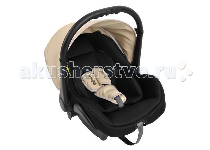 Автокресло Mr Sandman Carlo (эко-кожа)Carlo (эко-кожа)Mr Sandman Carlo — автокресло-переноска группы 0+ (для детей с рождения до 13 кг). Автокресло, гарантирующее безопасность ребенка во время поездки. Соответствует европейскому стандарту ECE R44/04, а качество и надежность подтверждены независимыми краш-тестами. Подходит для колясок фирмы Riko, Expander, Adamex, Bebe-mobile, Tutic.  Особенности: Полукруглое дно позволяет использовать как качалку Ручка-переноска регулируется в нескольких положениях Мягкие накладки на ремни Съемный чехол Мягкий вкладыш-матрасик с регулировкой подголовника Ткань отлично держит форму В комплекте: чехол на ножки, тент  Автокресло устанавливается только против хода движения автомобиля. Рекомендовано закреплять автокресло на заднем сидении плечевым ремнем автомобиля. На переднем сидение автокресло устанавливают только при выключенных подушках безопасности.  Тканые материалы: 50% эко-кожа, 50% полиэстер<br>
