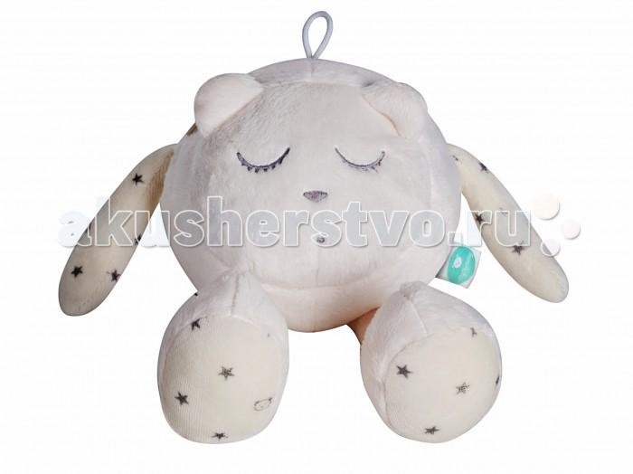 Мягкая игрушка myHummy Шумящее Чудо Mr SleeperШумящее Чудо Mr SleepermyHummy Mr Sleeper – это шумящее чудо с уникальным генератором белого шума (New Generation) помогает не только засыпать, но и снимает нервное напряжение, стрессовые нагрузки.  Шумящее чудо является другом не только новорожденного малыша, но и деток постарше, которые с любопытством начинают познавать мир. Ребенок с удовольствием играет с ручками и ушками myHummy, но главная задача игрушки – успокоить малыша и помочь заснуть. Засыпая, ваш малыш может прижаться к мягкой игрушке.  Игрушка издает 5 видов белого шума: урчание в утробе и биение сердца матери, шум морских волн, шум падающего дождя, имитация звука включенного фена и имитация звука включенного пылесоса, которые положительно воздействуют на нервную систему малыша.  Преимущества игрушки: через 60 минут звук приглушается и выключается самостоятельно возможность регулировать громкость эффект памяти, механизм запоминает последний уровень громкости и тип шума встроен датчик сна, который автоматически включит игрушку, если малыш начнет просыпаться, вертеться или плакать Non-Stop Система обеспечивает работу игрушки до 12 часов включается нажатием одной кнопки игрушки сшиты из безопасных материалов, которые подходят для детей с первого дня жизни вынув датчик из кармашка, игрушку можно постирать кармашек с шумящим механизмом находится внутри myHummy и безопасно застегивается на замок  Шумящее устройство включается не вынимая из кармашка. Материал, из которого изготовлен myHummy, полностью сертифицирован и безопасен для ребенка от первого дня жизни  myHummy Mr.Sleeper/Спящий имеет размер: 14 x 23 см. Состав: 80% полиестр, 20% хлопок.<br>