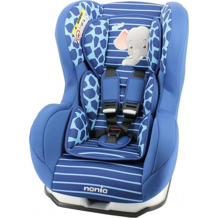 Автокресло Nania Cosmo SP AnimalsCosmo SP AnimalsАвтокресло Nania Cosmo SP Animals имеют опцию установки в противоположном движению автомобиля направлении, причем ребенок находится в горизонтальном положении. Это особенно важно для малышей до 1-го года, не умеющих самостоятельно сидеть.  Когда вес ребенка достигнет 9-ти кг, кресло следует устанавливать лицом в направлении движения автомобиля, однако только на заднем сиденье. Конструкция авто-кресел этой группы представляет собой пластиковую основу на силовом каркасе. Благодаря тому, что наклон спинки можно регулировать, малыш сможет спокойно спать во время долгих путешествий.  Особенности: 5-точечные ремни безопасности с 3-мя уровнями регулировки по высоте и мягкими плечевыми накладками крепится в автомобиле с помощью 3-х точечного ремня безопасности против движения автомобиля прочный каркас анатомической формы из полипропилена поглощающая силу удара прослойка из полистирола 3 положения наклона спинки позволяют ребенку комфортно чувствовать себя во время длительных поездок обивка легко снимается, возможна стирка при 300С SP (side protection) - улучшенная боковая защита соответствует стандарту безопасности ЕСЕ R44/04  Внешние размеры: 54х45х61 см; сидение: 31х31 см; спинка: 55 см<br>