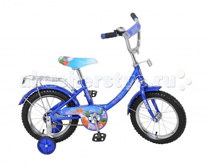 Велосипед двухколесный Navigator Basic 14 12BBasic 14 12BВелосипед Navigator Basic 14 12B - это хорошо собранный и надёжный велосипед для ребёнка.   Велосипед оснащен звонком и багажником. Модель подойдет для ребенка возрастом от 3 до 6 лет и ростом 100-120 см. Катание на велосипеде благоприятно влияет на здоровье, укрепляет мышцы, развивает зрение, учит ориентироваться в пространстве и принимать решения.   Особенности: Тип: детский Материал рамы: сталь Амортизация: отсутствует Конструкция вилки: жесткая Конструкция рулевой колонки: неинтегрированная, резьбовая Диаметр колес: 14 дюймов Материал обода: алюминиевый сплав Двойной обод: нет Шатун: односоставной Возможность крепления боковых колес: есть Боковые колеса в комплекте: есть Тип переднего тормоза: отсутствует Тип заднего тормоза: ножной Уровень заднего тормоза: начальный Количество скоростей: 1 Уровень каретки: начальный Конструкция каретки: неинтегрированная Тип посадочной части вала каретки: квадрат Количество звезд в кассете: 1 Количество звезд системы: 1 Конструкция педалей: платформы Конструкция руля: изогнутый Настройка положения руля: регулируемый подъем Материал рамки седла: сталь Комфорт: защита цепи, мягкая накладка на руле<br>