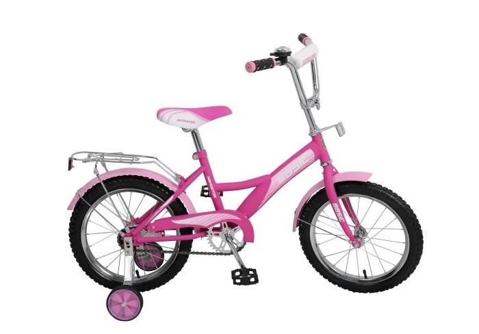 Велосипед двухколесный Navigator Basic 16 KiteBasic 16 KiteВелосипед Navigator Basic Kite 16 - это хорошо собранный и надёжный велосипед для ребёнка. Модель подойдет для ребенка ростом 105-125 см. Катание на велосипеде благоприятно влияет на здоровье, укрепляет мышцы, развивает зрение, учит ориентироваться в пространстве и принимать решения.   Особенности: Тип: детский Материал рамы: сталь Амортизация: отсутствует Конструкция вилки: жесткая Конструкция рулевой колонки: неинтегрированная, резьбовая Диаметр колес: 16 дюймов Материал обода: алюминиевый сплав Двойной обод: нет Материал бортировочного шнура: металл Возможность крепления боковых колес: есть Боковые колеса в комплекте: есть Тип переднего тормоза: отсутствует Тип заднего тормоза: ножной Уровень заднего тормоза: начальный Количество скоростей: 1 Уровень каретки: начальный Конструкция каретки: неинтегрированная Тип посадочной части вала каретки: квадрат Количество звезд в кассете: 1 Количество звезд системы: 1 Конструкция педалей: платформы Конструкция руля: изогнутый Настройка положения руля: регулируемый подъем Материал рамки седла: сталь Комфорт: защита цепи<br>