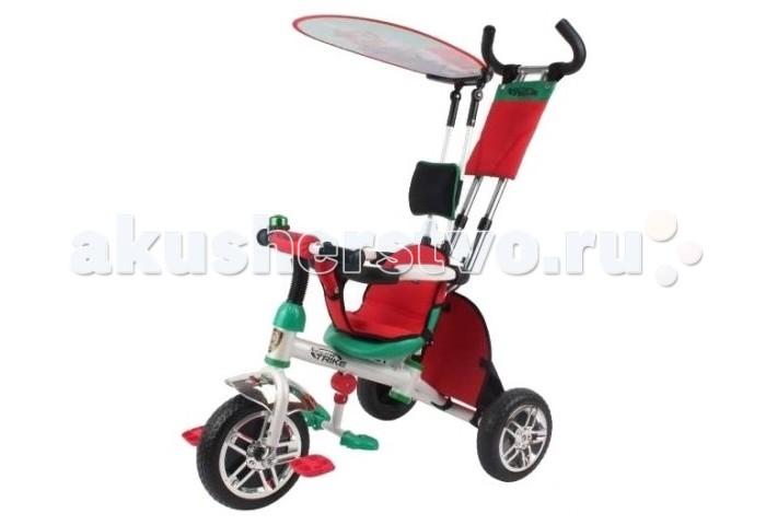 Велосипед трехколесный Navigator Lexus Trike Сафари (большие колеса)Lexus Trike Сафари (большие колеса)Велосипед трехколесный Navigator Lexus Trike Сафари - это яркий, стильный и абсолютно надежный трехколесный велосипед из прочного пластика и металла.  Превосходная модель для прогулок с малышом.  Особенности: колеса 12/10 дюймов звонок внутренняя тяга регулируемое сиденье свободный ход педалей  независимая управляющая ручка  съемный страховочный обод страховочные ремени, тент, складная подножка,  сумочка, корзина<br>