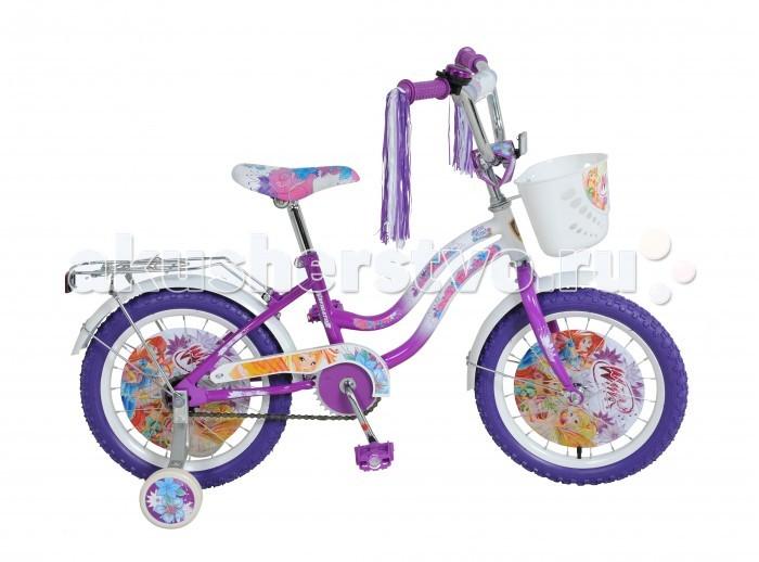 Велосипед двухколесный Navigator WINX T2-тип 16WINX T2-тип 16Велосипед двухколесный Navigator WINX T2-тип 16 подарит радость вашему ребенку.   Особенности:  Широкие страховочные колёса с декоративной вставкой Односоставной шатун Багажник Вставки в колесах, мягкая накладка на руле Передняя корзина, дождик в рукоятках руля, звонок.<br>