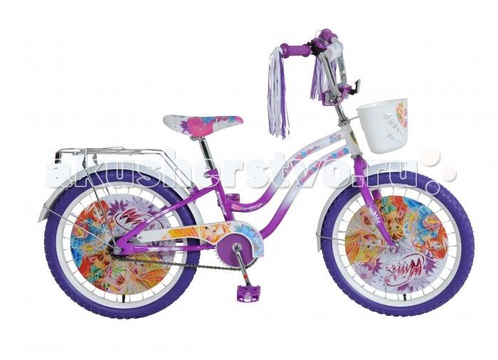 Велосипед двухколесный Navigator WINX T2-тип 20WINX T2-тип 20Велосипед двухколесный Navigator WINX T2-тип 20 подарит радость вашему ребенку.   Особенности:  Широкие страховочные колёса с декоративной вставкой Односоставной шатун Багажник Вставки в колесах, мягкая накладка на руле Передняя корзина, дождик в рукоятках руля, звонок.<br>
