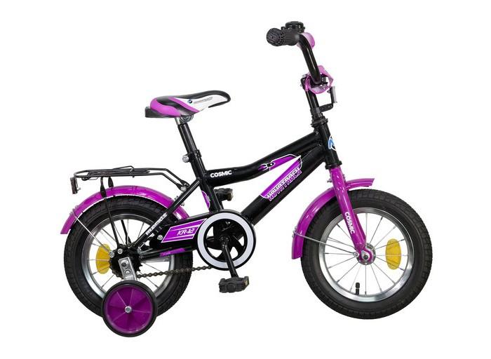 Велосипед двухколесный Novatrack Cosmic 12Cosmic 12Велосипед двухколесный Novatrack Cosmic 12 прекрасно подойдет для малыша, который любит активно проводить время. Крепкая стальная рама обеспечивает высокий уровень безопасности для ребенка. Для комфортных поездок по сложной трассе либо по пересеченной местности велосипед оборудован двумя дополнительными съемными колесами, благодаря которым маленький наездник будет чувствовать себя увереннее. Ножной тормоз позволит быстро затормозить в случае необходимости. А крылья в цвет велосипеда защитят ребенка от брызг во время езды.<br>