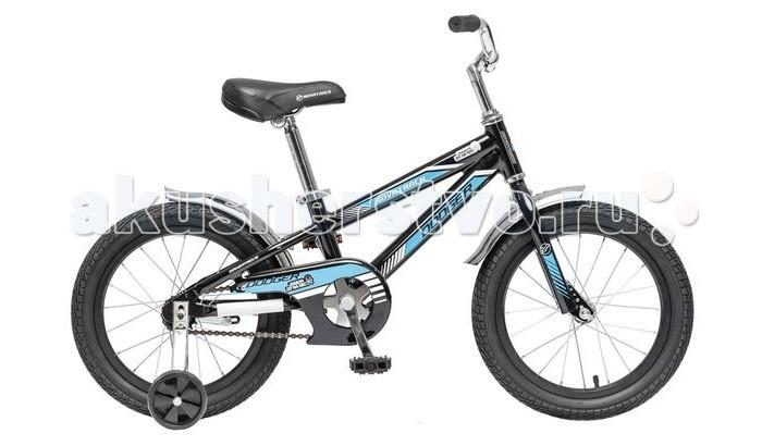 Велосипед двухколесный Novatrack Dodger 16Dodger 16Велосипед двухколесный Novatrack Dodger 16 прекрасно подойдет для малыша, который любит активно проводить время. Крепкая стальная рама обеспечивает высокий уровень безопасности для ребенка. Для комфортных поездок по сложной трассе либо по пересеченной местности велосипед оборудован двумя дополнительными съемными колесами, благодаря которым маленький наездник будет чувствовать себя увереннее. Ножной тормоз позволит быстро затормозить в случае необходимости. А крылья в цвет велосипеда защитят ребенка от брызг во время езды.<br>