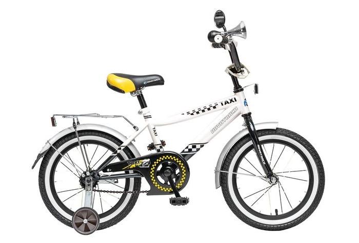 Велосипед двухколесный Novatrack Такси R 16Такси R 16Велосипед двухколесный Novatrack Такси R 16 прекрасно подойдет для малыша, который любит активно проводить время. Крепкая стальная рама обеспечивает высокий уровень безопасности для ребенка. Для комфортных поездок по сложной трассе либо по пересеченной местности велосипед оборудован двумя дополнительными съемными колесами, благодаря которым маленький наездник будет чувствовать себя увереннее. Ножной тормоз позволит быстро затормозить в случае необходимости. А крылья в цвет велосипеда защитят ребенка от брызг во время езды.<br>