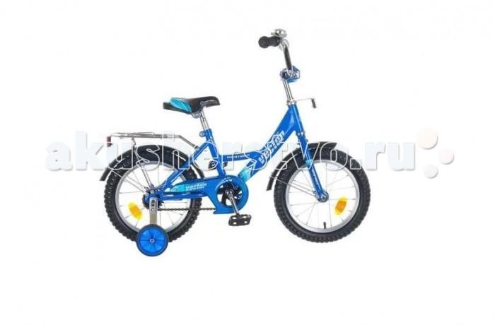 Велосипед двухколесный Novatrack Vector 16Vector 16Велосипед двухколесный Novatrack Vector 16 прекрасно подойдет для малыша, который любит активно проводить время. Крепкая стальная рама обеспечивает высокий уровень безопасности для ребенка. Для комфортных поездок по сложной трассе либо по пересеченной местности велосипед оборудован двумя дополнительными съемными колесами, благодаря которым маленький наездник будет чувствовать себя увереннее. Ножной тормоз позволит быстро затормозить в случае необходимости. А крылья в цвет велосипеда защитят ребенка от брызг во время езды.<br>