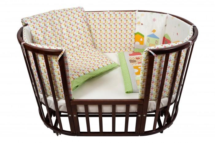 Комплект в кроватку Nuovita  Case (6 предметов)Case (6 предметов)Комплект в кроватку Nuovita Case (6 предметов) для детей с рождения.  Все материалы натуральные, экологически чистые и не вызывают аллергии, что так важно при выборе постельного белья для самых маленьких. В сочетании с безукоризненным качеством пошива и прекрасным дизайном эти преимущества делают комплект замечательным вариантом для оформления спального места в детской комнате.  В комплекте: бампер наволочка одеяло пододеяльник подушка простынь на резинке<br>