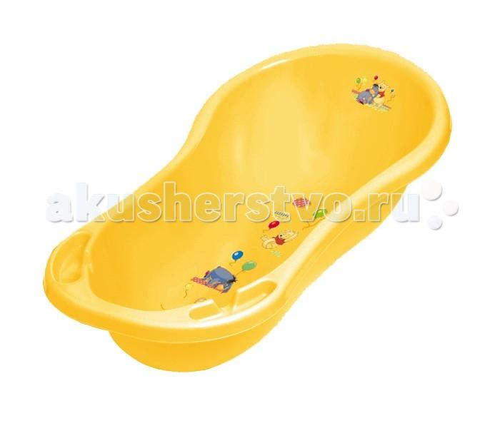 Детские ванночки OKT Ванна овальная Winnie the Pooh & Friends Disney со сливом 100 см  ванна okt hippo 1 м 8437 фиолетовый