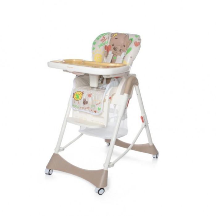 Стульчик для кормления Baby Care Love BearLove BearСтульчик для кормления Baby Care Love Bear   Baby Care Love Bear - стульчик для кормления со съемной столешницей. Сидение устанавливается в 6-ти положениях по высоте. Наклон спинки и подножки регулируется практически до горизонтального положения.  Стульчик легко складывается и устойчив в сложенном виде.  Особенности: 6 уровней высоты кресла 3 положения наклона спинки (в т.ч. горизонтальное) 5-точечные ремни безопасности и ограничитель 3 положения глубины столешницы съемная дополнительная прозрачная столешница регулируемая подножка сетка для игрушек стульчик легко складывается и устойчив в сложенном виде.   Особенности: Вес стульчика: 11 кг Размер стульчика в собранном виде: 53 х 76 х 104 см Размер стульчика в сложенном виде: 53 х 30 х 114 см Ширина сидения: 32 см Размер упаковки: 51 х 29 х 75 см Вес упаковки: 12.5 кг Рекомендовано для детей от 6 мес. до 6 лет.<br>