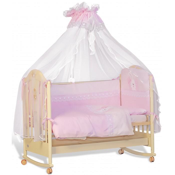 Комплекты в кроватку Папитто Сладкий сон (7 предметов) комплекты в кроватку папитто плюшевый мишка 6 предметов