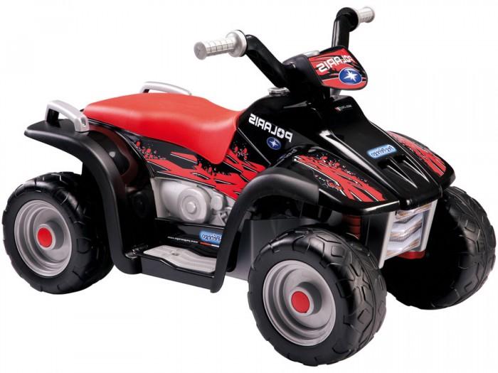 Электромобиль Peg-perego Polaris Sportsman 400Polaris Sportsman 400Квадроцикл Peg-Perego Polaris Sportsman 400 предназначен для детей от 2 до 5 лет. Яркая расцветка и простое управление!  Характеристики электромобиля Peg-Perego Polaris Sportsman 400: предназначен для детей от 2 до 5 лет аккумулятор 6V и зарядное устройство в комплекте количество скоростей: 1 скорость: 4,2 км/час максимальный угол подъёма: 5% максимально допустимая нагрузка: 20 кг защитный бампер размер: 97 х 61 х 61 см вес: 9,1 кг  Время первой зарядки аккумулятора: 18 ч (не более 24 ч). Время последующих зарядок: 8 ч. Возможно приобретение дополнительного аккумулятора.<br>