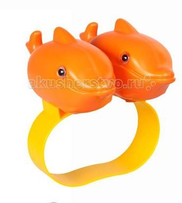 Круги и нарукавники для плавания Pilsan Доска для плавания DOLPHIN  круги и нарукавники для плавания happy baby нарукавники для плавания