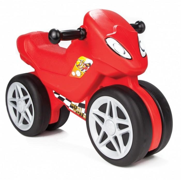 Каталка Pilsan Mini Motо в подарочной коробкеMini Motо в подарочной коробкеКаталка Pilsan Mini Moto в  подарочной коробке - прекрасный выбор для активных деток.   Благодаря небольшому размеру подходит для игр, как на улице, так и дома. Для того чтобы каталка начала движений, ребенку придется самому отталкиваться ногами, что хорошо тренирует мышцы ног и координацию движений.   Каталка станет прекрасным помощником во время прогулок и поездок на природу.<br>