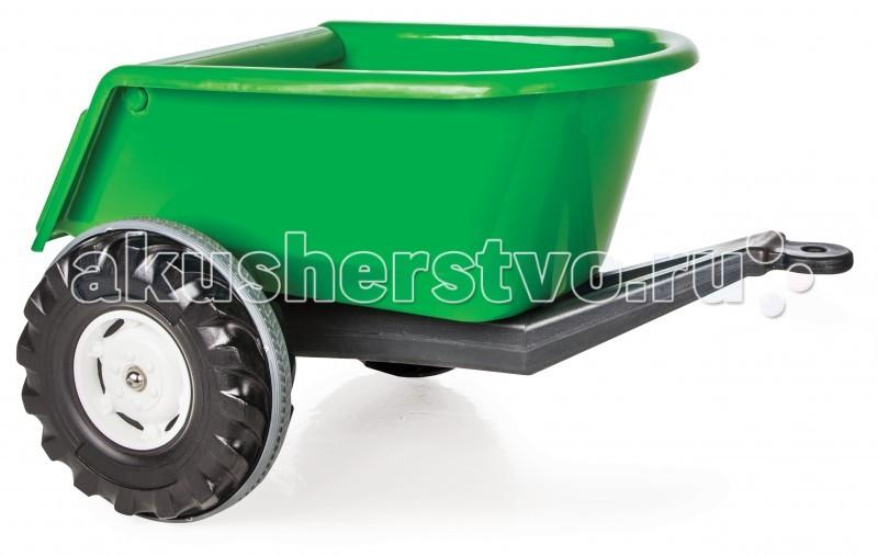Pilsan Прицеп TrailerПрицеп TrailerПрицеп для педального автомобиля Pilsan Trailer   Особенности:    эргономичный дизайн  безопасное сырье    Максимальный вес: 35 кг<br>