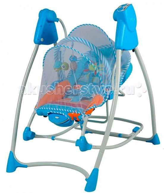 Электронные качели Pituso Lerin TY-805Lerin TY-805Электронные качели Pituso Lerin TY-805 обеспечивают плавное качание Вашего малыша и поможет быстро успокоить.  Особенности: Высокое качество и надежность Дуга со съемными мягкими игрушками (3шт.) 5 регулируемых скоростей качания Музыкальный блок 8 колыбельных мелодий 2 мелодии природы (пенья птиц, звук воды) Регулировка звука, выбор музыки Успокаивающая вибрация Вращающееся сиденье на 90° 3 режима работы качелей (8, 15, и 30 минут) Спинка сиденья регулируется в 2-х положениях Сиденье электрокачелей можно использовать как шезлонг Шезлог с функцией качания с фиксатором Съемный, моющийся чехол (деликатная стирка) 5-ти точечные ремни безопасности Москитная сетка USB вход для MP3 Работает от батареек или от адаптера Легко складывается Батарейки 4шт.D + 1шт.D для вибрации  Размер изделия: 70х86х94см Размер коробки: 47х32х54см Возраст ребенка: от 0-1 года Максимальный вес ребенка: 12 кг<br>