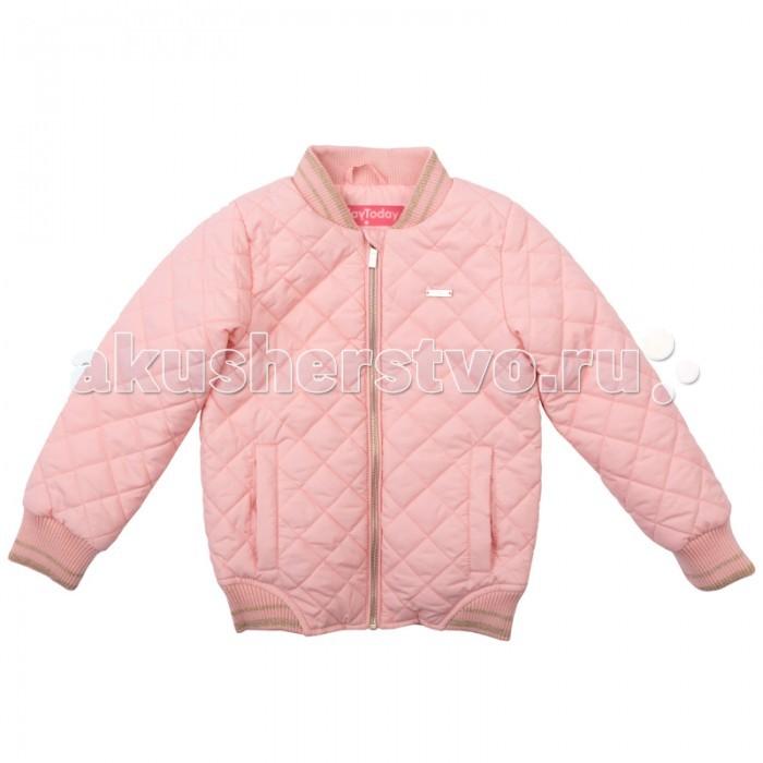 Playtoday Куртка для девочки Капель 172005Куртка для девочки Капель 172005Playtoday Куртка для девочки. Утепленная стеганая куртка - прекрасное решение для прохладной погоды. Мягкие трикотажные резинки на рукавах защитят Вашего ребенка - ветер не сможет проникнуть под куртку.  Специальный карман для фиксации застежки-молнии не позволит застежке травмировать нежную детскую кожу.     Особенности:     Мягкие трикотажные резинки на рукавах  Защита подбородка. Специальный карман для фиксации застежки-молнии. Наличие данного кармана не позволит застежке -молнии травмировать нежную кожу ребенка.<br>