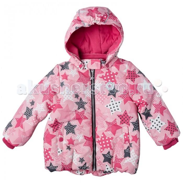Playtoday Куртка для девочки Папина дочка 178001Куртка для девочки Папина дочка 178001Playtoday Куртка для девочки. Практичная утепленная куртка с капюшоном со специальной водоотталкивающей пропиткой защитит Вашего ребенка в любую погоду! Мягкие трикотажные резинки на рукавах защитят Вашего ребенка - ветер не сможет проникнуть под куртку.   Специальный карман для фиксации застежки-молнии не позволит застежке травмировать нежную детскую кожу. Мягкая резинка на капюшоне не позволит ему упасть с головы вашего ребенка даже во время активных игр.  Особенности: Защита подбородка. Специальный карман для фиксации застежки-молнии. Наличие данного кармана не позволит застежке -молнии травмировать нежную кожу ребенка Капюшон на мягкой резинке Водооталкивающая пропитка.  Состав: Верх: 100% полиэстер, подкладка: 80% хлопок, 20% полиэстер, Утеплитель 100% полиэстер, 150 г/м2.<br>