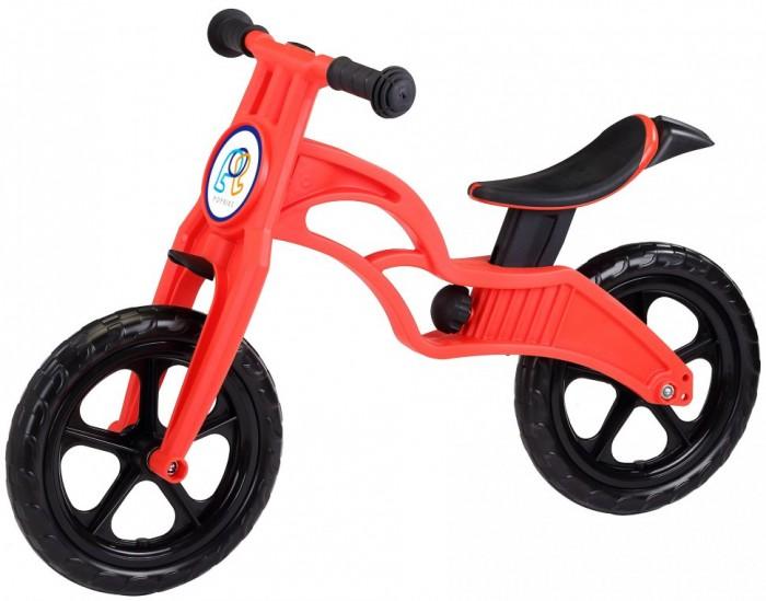 """Беговел Pop Bike детский Flash с бескамерными колесамидетский Flash с бескамерными колесамиPop Bike Детский беговел Flash с бескамерными колесами – это двухколесный велосипед без педалей, предназначенный для детей от 1 года. Его главное преимущество в том, что он позволяет быстрее освоить навык езды, адаптироваться к скорости, научиться балансировать, что очень сложно дается детям в первое время.  Двухколесный велосипед поможет улучшить координацию, ребенок поймет, что требуется делать, чтобы держать равновесие, разгоняться и тормозить. Беговел – это отличная альтернатива традиционному велосипеду с дополнительными колесами, выполняющими функцию страховки от падения. Производитель не снабжает такие модели педалями, так как малышу тяжело их крутить, к тому же они отвлекают его и становятся причиной потери равновесия. На самом деле беговел является не просто удобным для ребенка устройством, но и в достаточной степени безопасным. Так, сам велосипед отличается малым весом, поскольку в конструкции отсутствует подвеска и лишние колеса.   В случае необходимости родители могут взять беговел и понести в руках, если малыш передумал кататься. Любой ребенок перестанет бояться ездить на велосипеде, так как будет чувствовать себя безопасно – этому способствует расположение рамы. Малыш всегда может опереться на ноги, если потеряет равновесие или разгонится слишком сильно. По мере роста ребенка седло велосипеда надо регулировать по высоте.  Особенности: Сверхлёгкая рама и вилка из композитного материала, прорезиненная мягкая пластмасса soft-touch  Рама изготовлена по специальной технологии, благодаря чему она прочнее аналогов на 30%  Ребёнок может сам переносить свой беговел  Прорезиненное комфортное сиденье с лёгкой регулировкой по высоте - для детей ростом от 85 см, на возраст от 2 лет  Мягкие комфортные грипсы с защитными бар-эндами Переднее и заднее мини крыло в комплекте.  Бескамерные колеса размером 12""""  Простая и быстрая сборка  Все необходимые ключи в комплекте Беговел поста"""