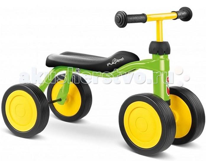 Беговел Puky PukylinoPukylinoPuky Pukylino - отличный транспорт для тренировки ребенка от 1 года! Беговел-каталка Puky - поможет ребенку почувствовать самостоятельность с самых первых шагов. Стимулирует двигательную активность и помогает малышу освоить хождение пешком. При движении каталка не создает никакого шума (что особенно важно для родителей).  В отличии от подавляющего большинства каталок, седло очень эргономично. Оно довольно узкое, в результате не мешает, а помогает шагать. Высота седла - 22 см, каталка подойдет деткам ростом от 75 см.  Вес - всего 2.6 кг, малыш в состоянии управляться своим новым конем самостоятельно.  Материалы: металлический корпус сделан в соответствии с европейскими требованиями стандарта, качества и безопасности для детских товаров высокое качество окраски  Характеристики: предназначен для катания детей от года, на рост 75 до 86 см максимальная устойчивость и безопасность легкий вес легко катится 4 бесшумных колеса эргономичное седло безопасные ручки с накладками на руле максимальная нагрузка - 20 кг  Внимание: ключ для сборки в комплект не входит, просьба приобрести отдельно.  Общие размеры: высота седла  22 см размер седла (дхшхв)  51x26x22 см колесная база  26 см Вес:  2.65 кг<br>