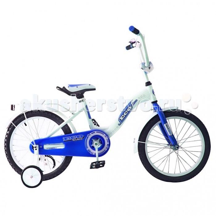 Велосипед двухколесный R-Toys Aluminium BA Ecobike 18Aluminium BA Ecobike 18Двухколесный велосипед Aluminium BA Ecobike 18 с боковыми колесами на усиленных кронштейнах. Ребенку проще привыкнуть к габаритам двухколесной модели, если она имеет дополнительные колесики для устойчивости. Когда рулевое управление будет доведено до совершенства, можно переходить к тренировкам поддержания равновесия на велосипеде без боковых колес.  Особенности велосипеда: прочная алюминиевая рама стойкое антикоррозийное покрытие рамы удлиненные стальные крылья обод стальной руль ВМХ, по центру - мягкая накладка съемные боковые колеса с жесткой прорезиненной поверхностью усиленный кронштейн боковых колес надувные 18-дюймовые колеса на подшипниках количество скоростей - 1 защитный кожух на велоцепи тормоз задний ножной багажник-хром зеркало заднего вида на гибкой ножке звонок на руле<br>