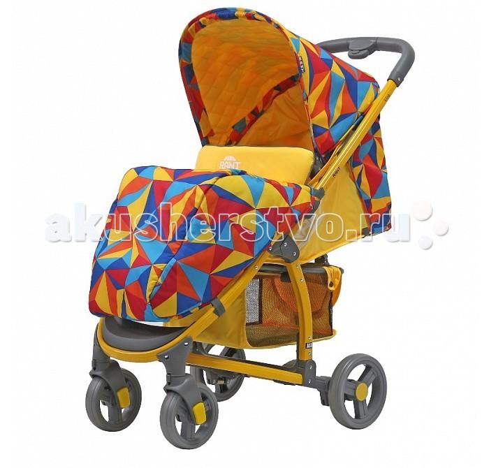 Прогулочная коляска Рант Vira AluVira AluПрогулочная коляска Рант Vira Alu. Функциональная и удобная модель обладает отменными эксплуатационными качествами и надежностью. Прогулочный блок для подросшего малыша имеет достаточно широкое и комфортное посадочное место. Спинка сиденья имеет плавную и многоуровневую регулировку с помощью ремня. Предусмотрено положение для сна.   Коляска адаптирована к прогулкам в любое время года. От солнца, ветра или осадков защищает увеличенный капюшон и накидка на ножки. Съемная ручка-бампер (ручка перед ребенком) легко снимается полностью, либо его можно откинуть на одну сторону, чтобы посадить ребенка в коляску. Обезопасят малыша в коляске регулируемые пятиточечные ремни безопасности с мягкими плечевыми накладками. Для удобства родителей на раме предусмотрен подстаканник для бутылочки и вместительная корзина для детских принадлежностей или покупок.  За счет облегченной алюминиевой рамы коляска легкая и удобная. Имеет узкую колёсную базу - всего 56 сантиметров, позволяющую провезти коляску в любые двери лифтов и подъездов. Коляска маневренная, обладает плавным ходом. Передние колёса снабжены поворотным механизмом на 360° градусов, с возможностью фиксации колеса в положении «прямо». Задние колеса надежно фиксирует центральный ножной тормоз. Коляска Vira Alu быстро и компактно складывается «книжкой» кнопкой на ручке, не занимает много места при транспортировке и хранении.   Особенности:  Возраст: от 6 мес. до 3-х лет Материал: водоотталкивающая, не продуваемая, дышащая ткань.  Регулировка высоты спинки, предусмотрено положение для сна  Пятиточечный ремень безопасности с мягкими плечевыми накладками  Увеличенный капюшон с окошком и карманом Съемный подстаканник на ручке Съемная ручка-бампер с тканевым чехлом на молнии Ламинированная подножка регулируется по высоте Материал рамы: алюминий  Механизм складывания: «книжка» (кнопки на ручках) Фиксируется зажимом в сложенном виде Материал колес: вспененная резина, на шариковых подшипниках Пере