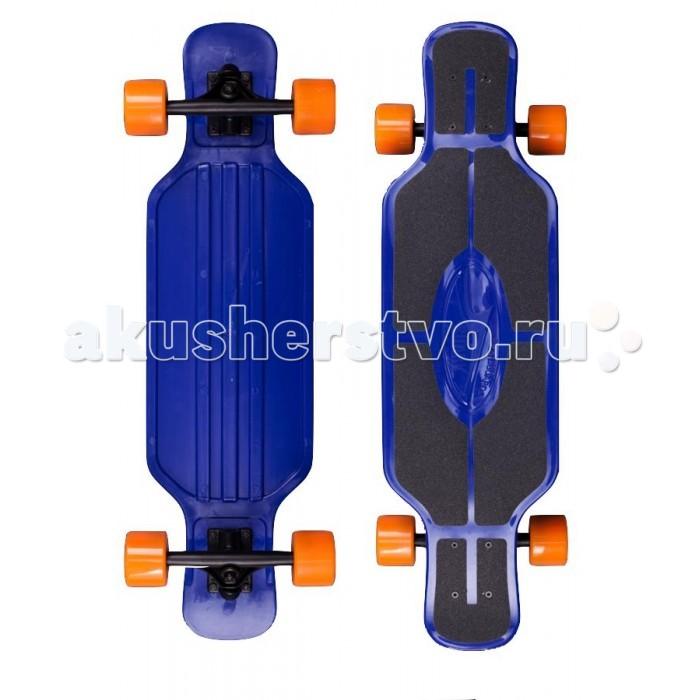 Rapid Sport Скейтборд TLS-408Скейтборд TLS-408Rapid Sport Скейтборд TLS-408 пластиковый для детей. Дека оборудована противоскользящим покрытием.  Длина деки: 78 см, ширина: 21 см. Колёса: 65 мм 82А. Подшипники: ABEC-7. Максимальная нагрузка до 100 кг.<br>