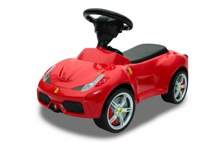 Каталка Rastar 16 Ferrari 458 Speciale A16 Ferrari 458 Speciale AКаталка Rastar 16 Ferrari 458 Speciale A создана для маленького гонщика. Машина выглядит совсем как настоящий автомобиль благодаря тому, что выполнена по образу знаменитого Ferrari.  Каталка выполнена из прочного пластика с использованием металлических деталей. Мягкое сидение и гладкие борта позволяют малышу с комфортом устроиться на машинке.  Обратите внимание на колеса с прорезиненным ободом, что делает автомобиль-каталку прекрасной игрушкой не только для улицы, но и для домашнего использования.<br>