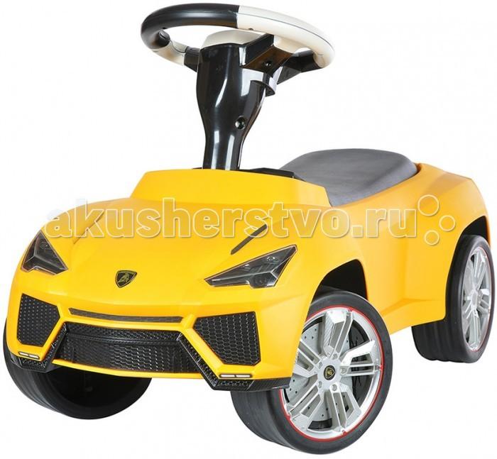 Каталка Rastar 16 Lamborghini Urus16 Lamborghini UrusКаталка Rastar 16 Lamborghini Urus создана для маленького гонщика. Машина выглядит совсем как настоящий автомобиль благодаря тому, что выполнена по образу знаменитого Lamborghini.   Каталка выполнена с высокой детализацией кузова и подгона всех деталей. Окрашена каталка стильной матовой краской. Колеса выполнены из прорезиненного пластика, что улучшает комфорт при поездке и снижает шум.   Каталка приведет в восторг малыша за ее отличный дизайн и простой функционал.<br>