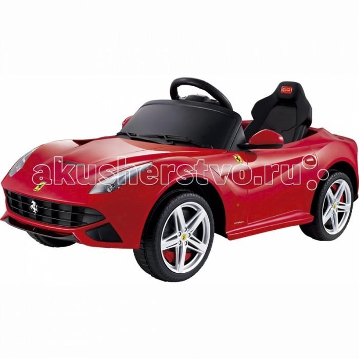 Электромобиль Rastar R/C Ferrari F12 12V (1 motors)R/C Ferrari F12 12V (1 motors)Электромобиль Rastar R/C Ferrari F12 12V (1 motors) выполнен по лицензии настоящего автомобиля. Он развивает скорость до 4 км/ч, а работает от аккумулятора. Машина может ездить вперед/назад, руль поворачивается вправо/влево. Управление ею также может происходить с помощью пульта радиоуправления. Для того, чтобы поехать, сначала нужно завести ее с помощью ключа зажигания. У модели горят фары, складываются зеркала, есть кнопка сигнала на руле, а также имеется разъем для МР3-плеера.   Особенности: вес с упаковкой - 16 кг длина коробки - 113 см цвет - красный ширина коробки - 56 см высота коробки - 33 см страна - Производство Китай тип модели - Лицензионная модель особенности модели - 2 двигателя (12V) основной материал модели - высококачественный пластик тип аппаратуры - 27MHz<br>
