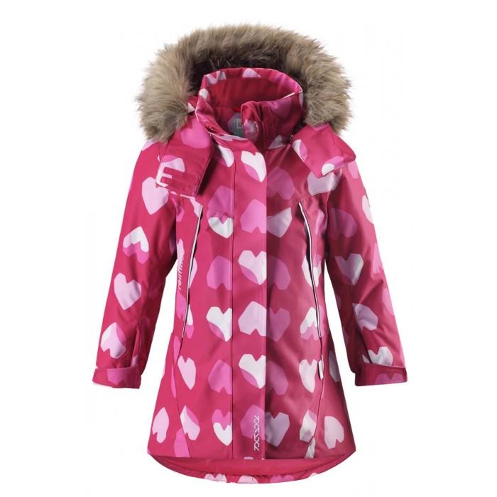 Reima Куртка зимняя 521516Куртка зимняя 521516Reima Куртка зимняя 521516 для детей.   Особенности: все швы проклеены и водонепроницаемы водо- и ветронепроницаемый, «дышащий» и грязеотталкивающий материал крой для девочек гладкая подкладка из полиэстра безопасный отстегивающийся и регулируемый капюшон с отсоединяемой меховой каймой из искусственного меха регулируемые манжеты и подол внутренний нагрудный карман два кармана на молнии карман с кнопками для сенсора ReimaGO® светоотражающие детали от 0 -20 Стирать по отдельности, вывернув наизнанку. Перед стиркой отстегните искусственный мех. Застегнуть молнии и липучки. Стирать моющим средством, не содержащим отбеливающие вещества. Полоскать без специального средства. Во избежание изменения цвета изделие необходимо вынуть из стиральной машинки незамедлительно после окончания программы стирки. Можно сушить в сушильном шкафу или центрифуге (макс. 40 °C).<br>