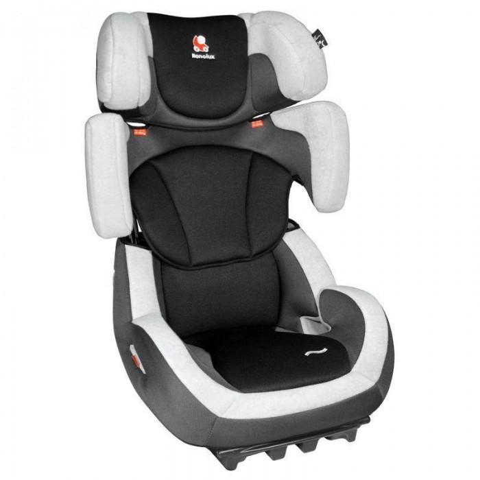 Автокресло Renolux Step 23Step 23Автокресло Renolux Step 23 группы 2/3 рассчитано на долговременное использование для перевозки детей от 3 до 12 лет. Конструкция кресла позволяет удобно и безопасно расположиться детям более 15 кг и менее 36 кг. Примерно с 3 до 7 лет конструкция используется в сложенном виде совместно с анатомической вставкой под спину ребенка, что обеспечивает комфортное и безопасное передвижение за счет правильного расположения и степени прилегания штатного ремня безопасности. В более старшем возрасте спинка кресла может подниматься вверх, при этом сохраняется необходимый уровень боковой защиты.   Регулируемая спинка и подголовник обеспечивают возможность максимально адаптировать кресло под рост ребенка, а регулируемый наклон спинки делает более комфортным передвижение во время сна. Установка кресла осуществляется при помощи штатных ремней безопасности.  Особенности: Пригодно для использования в двух весовых группах: 15-25 кг и 22-36 кг. Регулируемый по высоте подголовник Боковая защита Регулируемый наклон спинки Возможность регулировки спинки по высоте Анатомическая подушка Чехол может сниматься для стирки Устанавливается при помощи штатных ремней безопасности по ходу движения автомобиля Имеет сертификат соответствия европейским стандартам безопасности ECE-44/04  Размер: 48х51х67 см. Вес: 7.2 кг.<br>