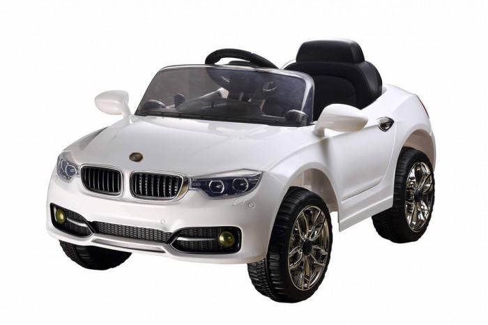 Электромобиль RiverToys BMW P333BP с дистанционным управлениемBMW P333BP с дистанционным управлениемЭлектромобиль RiverToys BMW P333BP с дистанционным управлением - световые и звуковые эффекты.  Особенности: световые эффекты: диодные огни, фары передние, задние фары, подсветка панели приборов, противотуманные фары, неоновая подсветка по корпусу салона, неоновая подсветка решетки радиатора звуковые эффекты:  музыкальный руль - звук клаксона/мелодии заводские пульт управления: индивидуальный (настраивается по Bluetooh) амортизаторы: да, задние и передние колеса: каучуковые скорость: 3-5 км/ч, cкорость вперед, одна назад (плавный ход) сидение: кожаное, 3-х точечный ремень безопасности включение: кнопка принцип-чемодана: да открываются двери, багажник медиа-панель: microSD-вход, USB-вход, mp3-вход макс. нагрузка: 25 кг аккумулятор: 2*6V/4Ah редуктор:  12V*2<br>